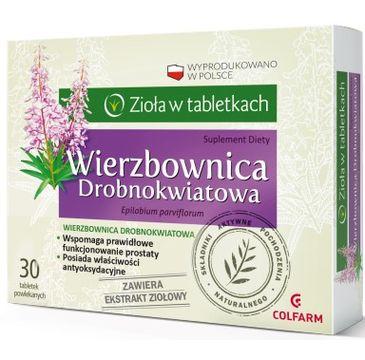 Colfarm Zioła w Tabletkach Wierzbownica Drobnokwiatowa suplement diety 30 tabletek