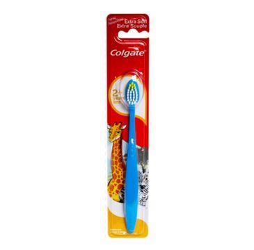 Colgate Extra Soft 2+ Years szczoteczka do zębów dla dzieci powyżej 2 roku życia 1szt