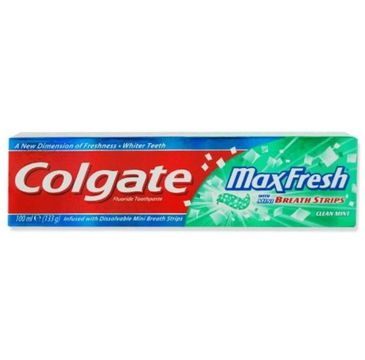 Colgate Max Fresh Cooling Crystals Clean Mint pasta do zębów 100ml