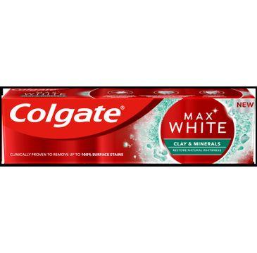 Colgate Max White Clay & Minerals pasta do zębów (75 ml)