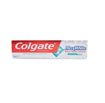 Colgate Max White With Whitening Strips Crystal Mint pasta do zębów 100ml