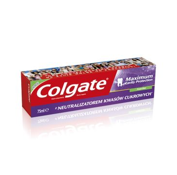 Colgate Maximum Cavity Protection Fresh Mint pasta do zębów 75 ml
