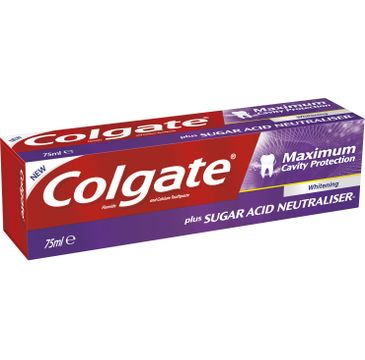 Colgate Maximum Cavity Protection Whitening pasta do zębów  75 ml