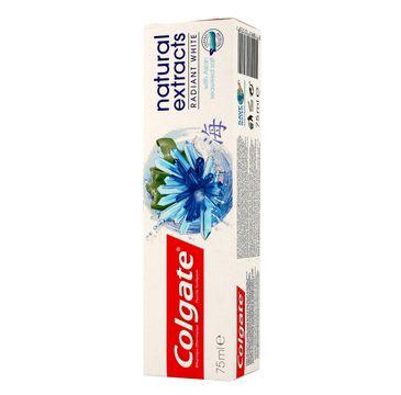 Colgate Natural Extracts Radiant White pasta do zębów wybielająca 75 ml