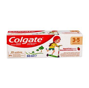 Colgate pasta do zębów dla dzieci Naturalnie owocowy smak (3-5 lat) 50 ml