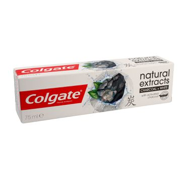 Colgate Pasta do zębów Natural Extracts Charcoal+White 75 ml