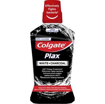 Colgate Plax Płyn do płukania jamy ustnej White +Charcoal (500 ml)
