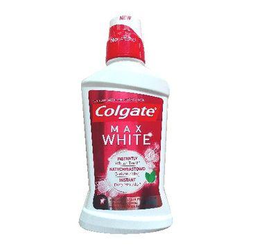 Colgate płyn do płukania ust Max White Whiter Teeth 500 ml
