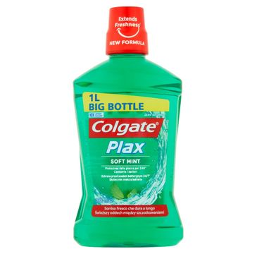 Colgate Płyn do płukania ust Plax Soft Mint 1000 ml