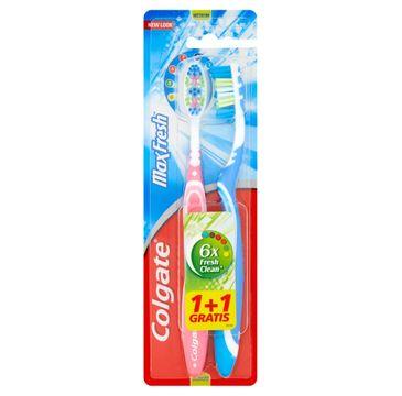 Colgate Szczoteczka do zębów DUO Max Fresh średnia 1 op. - 2 szt.