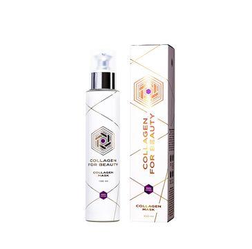 Collagen For Beauty Lux Collagen Mask 100% Natural kolagenowa maska do twarzy (100 ml)