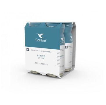 Collibre – Swiss Collagen Active Drink płynny kolagen suplement diety 10000mg (4 x 140 ml)