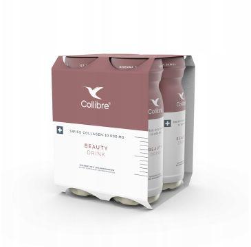 Collibre – Swiss Collagen Beauty Drink płynny kolagen suplement diety 10000mg (4 x 140 ml)