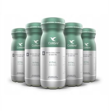 Collibre Swiss Collagen Vital Drink płynny kolagen suplement diety 10000mg (32 x 140 ml)
