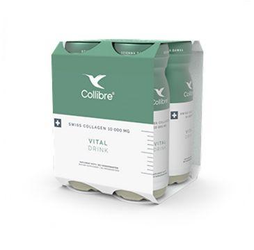 Collibre – Swiss Collagen Vital Drink płynny kolagen suplement diety 10000mg (4 x 140 ml)