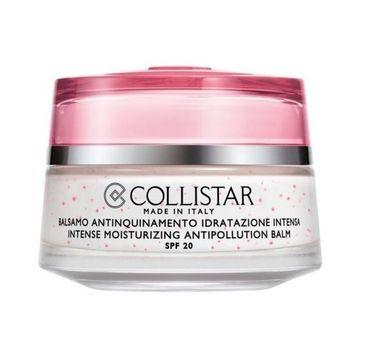Collistar Idro-Attiva Intense Moisturizing Antipollution Balm intensywnie nawilżający krem do twarzy przeciw zanieczyszczeniom 50ml