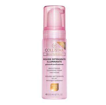Collistar Mousse Detergente Brightening Cleansing Foam Rozświetlająca pianka do mycia twarzy 200ml
