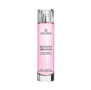 Collistar Profumo Dell Amore Aromatic Water woda aromatyczna z olejkami eterycznymi i wyciągami z płatków kwiatów 100ml