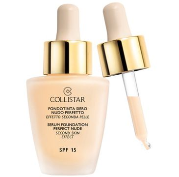 Collistar Serum Foundation Perfect Nude SPF15 Second Skin Effect podkład do twarzy 4 Sabbia 30ml
