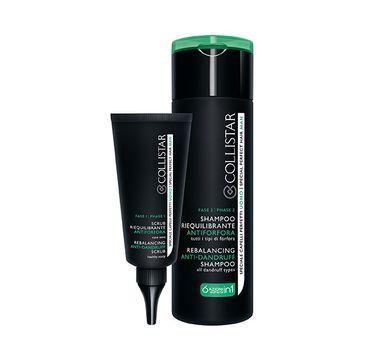 Collistar Shampoo&Rebalancing zestaw Shampoo przeciwłupieżowy szampon do włosów 200ml+ Rebalancing Anti-Dandruff Scrub przeciwłupieżowy scrub 50ml