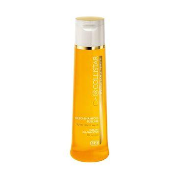 Collistar Sublime Oil Shampoo szampon do włosów na bazie olejków 250ml