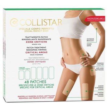 Collistar Trattamento Patch Rimodellante plastry modelujące i ujędrniające do ciała 48 plastrów