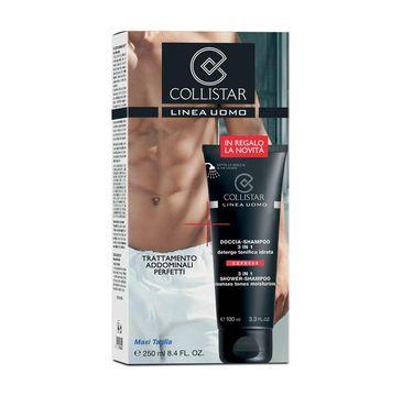 Collistar Uomo 3in1 Shower-Shampoo Cleanses Tones Moisturizes szampon i żel pod prysznic w jednym 250ml