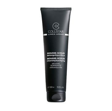 Collistar Uomo Mousse-Scrub Cleansing & Purifying oczyszczająca pianka do twarzy 150ml