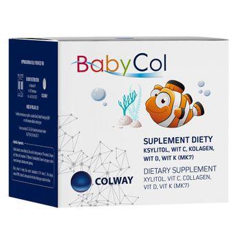 Colway BabyCol pastylki dla dzieci z kolagenem i witaminami suplement diety 60 sztuk