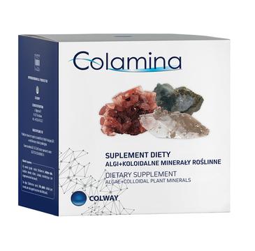 Colway Colamina algi + koloidalne minerały roślinne suplement diety 100 kapsułek