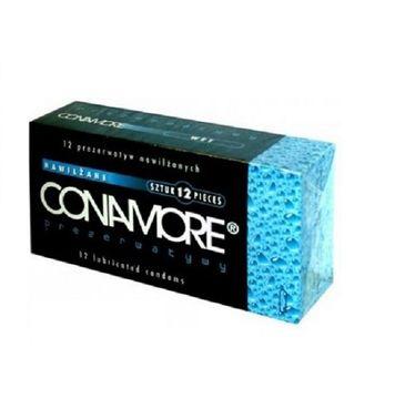 Conamore Wet prezerwatywy nawilżane 12szt