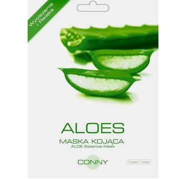 Conny Aloe Essence Mask wyciszenie i relaks kojąca maseczka w płachcie Aloes 23g