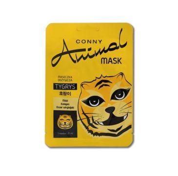 Conny Animal Mask Tygrys maseczka odżywcza w płachcie 21ml
