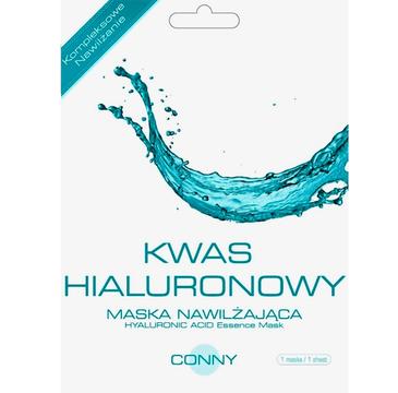 Conny Hyaluronic Acid Essence Mask jędrność i gładkość nawilżająca maseczka w płachcie Kwas Hialuronowy 23g