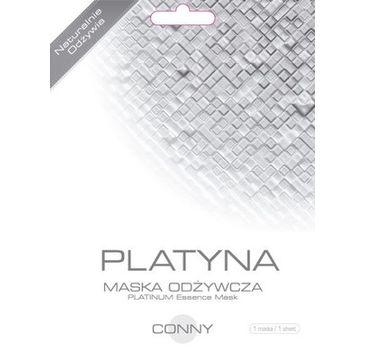 Conny Platinum Essence Mask odżywcza maseczka w płachcie Platyna 23g
