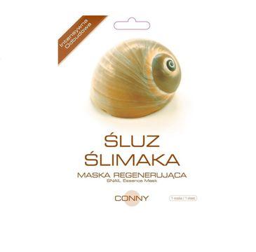 Conny Snail Essence Mask upiększająca maseczka w płachcie Śluz Ślimaka 23g