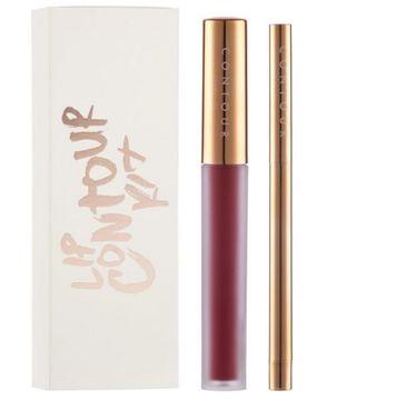 Contour Cosmetics Lip Contour Kit Creamy Lip Liner & Matte Liquid Lipstick zestaw kredka + pomadka do ust No.4 Juju 2.5g