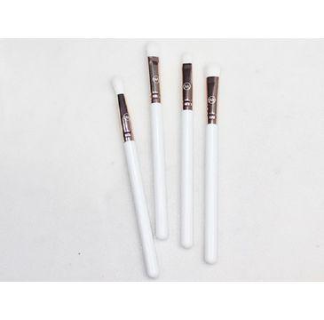 Contour Cosmetics Make Your Mark zestaw pędzli do oczu Biały 4szt