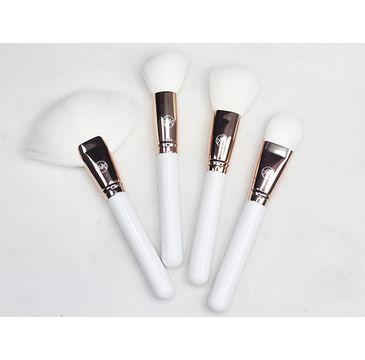 Contour Cosmetics Make Your Mark zestaw pędzli do twarzy Biały 4szt
