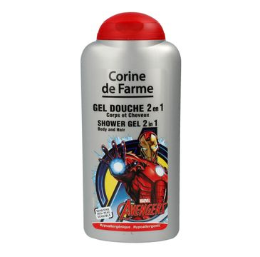 Corine de Farme Avengers żel dla dzieci myjący 2w1 250 ml