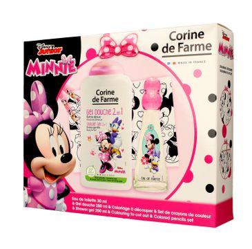 Corine de Farme Disney Zestaw prezentowy Minnie (edt 30ml+żel p/pr.250ml+gadżety)