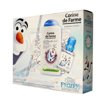 Corine de Farme Disney Zestaw prezentowy Olaf's Frozen Adventure (edt 50ml+żel p/pr.250ml+gadżety)