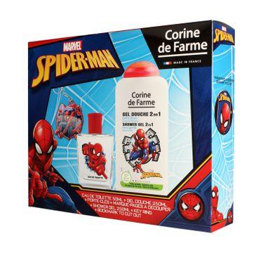 Corine de Farme Disney Zestaw prezentowy Spider-Man (edt 50ml+żel p/pr.250ml+gadżety)