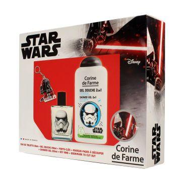 Corine de Farme Disney Zestaw prezentowy Star Wars (edt 50ml+żel p/pr.250ml+gadżety)