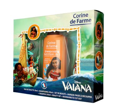 Corine de Farme Disney Zestaw prezentowy Vaiana (edt 30ml+szampon 2w1.250ml+gadżety)