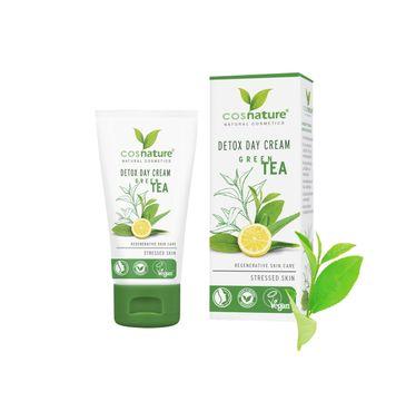 Cosnature Detox Day Cream naturalny krem do twarzy na dzień z zieloną herbatą (50 ml)