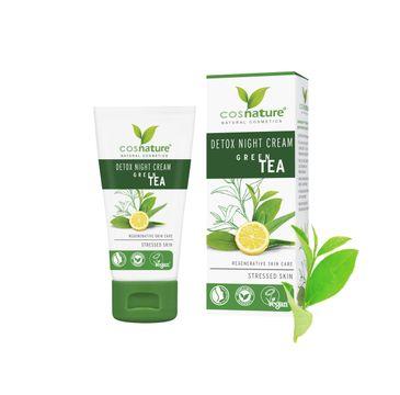 Cosnature Detox Night Cream naturalny krem do twarzy na noc z zielonÄ… herbatÄ… (50 ml)