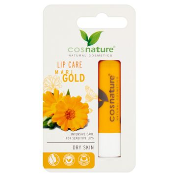 Cosnature Lip Care naturalny ochronny balsam do ust z nagietkiem (4.8 g)