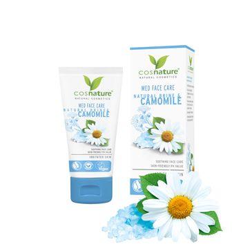 Cosnature – Med Face Care naturalny kojący krem do twarzy z solanką i rumiankiem (50 ml)