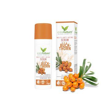 Cosnature – Multi Anti-Aging naturalne multiwitaminowe przeciwzmarszczkowe serum z rokitnikiem (30 ml)